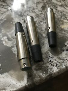 Switchcraft A4F, 4 Pin XLR Female In-Line Jack QTY 3