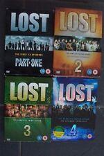 LOST BOXSET DVD'S SEASONS 1-2-3-4