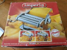 Imperia iPasta Limited Edition Chromed Steel Pasta Machine NEW made in Italy