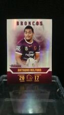 Single Modern (1970-Now) Era 2017 Season NRL & Rugby League Trading Cards