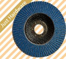 FLAP DISC DISCS WHEEL Zirconia ANGLE GRINDER 100mm 125mm grit 40 60 80 grit