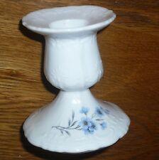 1 Kerzenständer  7,5 cm     BARONESSE    Vergißmeinnicht