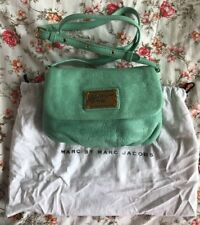 """Marc by Marc Jacobs MBMJ """"Percy Flap"""" in Minty Adjustable Crossbody Shoulder"""