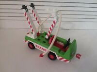 Vintage Playmobil Geobra Trans Truck Utility Vehicle