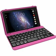 "NEW RCA Voyager Pro 16GB 7"" Touchscreen Quad-Core PC Tablet + Keyboard Pink"