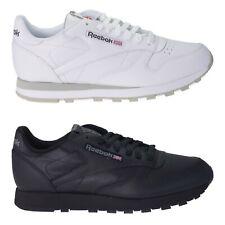 Herren Schuhe 46 Reebok Classic Sneaker Schwarz