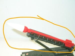 Solido Rocket Red for The Char PT 76 Lance Missile Military Russian