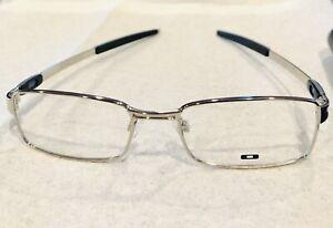 Oakley OX 3142-0252 Tumbleweed Eyeglasses CHROME 52-19-143 NO CASE