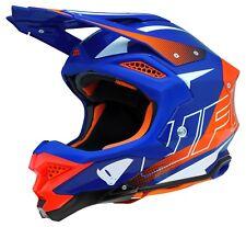 UFO Motocross Helmet Diamond 2019 Blue Red L