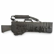 Rifle or Shotgun Scabbard Black w/ Carry handle and Padded Shoulder Strap