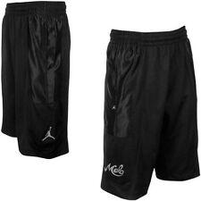 Air Jordan Nike Jumpman Melo 10 Mens Basketball Shorts Black 589128010 2XL