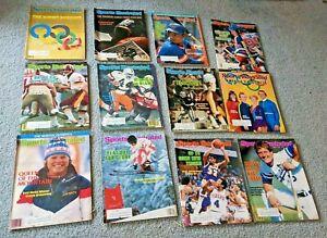 1984 Sports Illustrated Magazines - Lot of 43 - Michael Jordan, George Brett