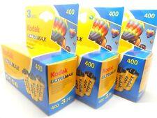 9 x Kodak Ultramax 400 35mm 24exp colore a buon mercato film di 1st classe Royal mail