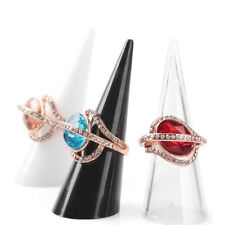 Jewelry Display Stand Holder Plastic Hand Finger Ring Show Organizer Accessories