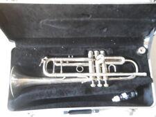 Bach Stradivarius Model 37 Silver Trumpet w/ hard case & mouthpiece