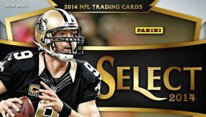 2014 Select Base Set Singles NFL Football Trading Sports Cards #1-200