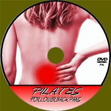 PILATES FOR LOWER BACK PAIN & DISCOMFORT RELIEF VIDEO DVD RELAX RELIEVE STRESS