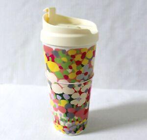 Kate Spade Floral Dot Thermal Mug Tumbler 16 oz
