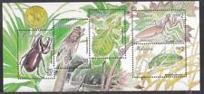 Malaysia 1999 Insects stamp MS Mint Unused