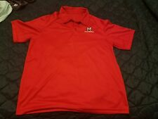 NCAA SEC College Team M Logo Nike Dri-Fit Large L Polo Shirt
