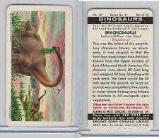 Fc34-6 Brook Bond, Dinosaurs, 1963, #18 Brachiosaurus