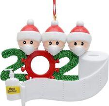 New Quarantine Christmas Party Decoration Gift Santa Claus New Year 2021