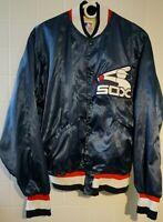Vintage Starter Chicago White Sox Satin Jacket Retro Baseball MLB Medium 80s 90s