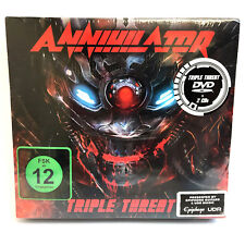 Annihilator - Triple Threat Deluxe 2 X CD and DVD Box Set