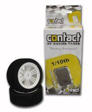 Neumáticos, llantas y bujes Schumacher Electric para vehículos de radiocontrol 1:10