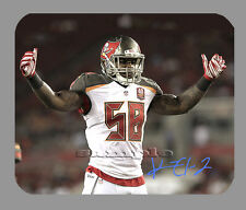 Item#4122 Kwon Alexander Tampa Bay Buccaneers Facsimile Autographed Mouse Pad