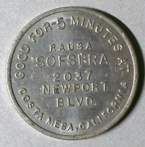 SOFSPRA CAR WASH • COSTA MESA, CALIFORNIA • 25¢ • 5 MINUTES