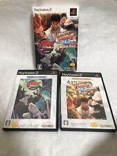 PS2 Street Fighter 2 Hyper Anniversary & Vanpire Value Pack Capcom Japan