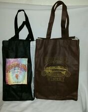 2 Souvenir Ruby Hill Winery Logo Wine Bottle Carriers Bags 1 Can Carry 6 other 4