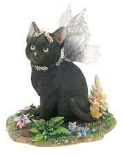 Mystique Fairy Cat Figurine Faerie Glen Collection - Munro Gifts