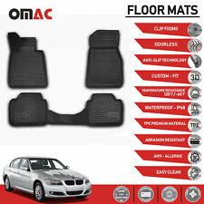 Coverking Custom Fit Front and Rear Floor Mats for Select BMW 5-Series Models CFMBX1BM9221 Black Nylon Carpet