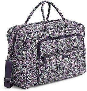 VERA BRADLEY~Iconic GRAND Weekender Travel Bag~BON BON MEDALLION~$140~NWT!