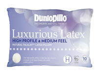 Dunlopillo Luxurious Latex High Profile & Medium Feel Pillow RRP $169.95