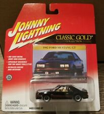 Johnny Lightning Classic Gold Collection 1982 Ford Mustang GT - Black