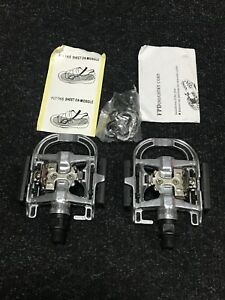 Flat Dual Function SPD Pedals TRAIL BIKE+ CLEATS