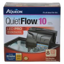 Aqueon QuietFlow LED Pro Power Filters in Models10,20,30,50, and 75 gallons