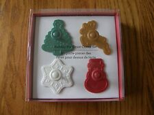 Williams Sonoma Pie Crust/Cookie Cutters Christmas/Holiday/Winter Snowflake,Tree