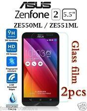 "2x ASUS Zenfone 2 5.5"" ZE551ML Deluxe Tempered Glass LCD Screen Protectors Guard"