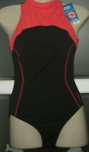Zoggs Exclusive Women's Predator Zipped Back UK Size 8