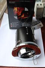Red Arrow  MR16 12v Die Die Cast Fire Rated Tilt Downlight Polished Chrome 86cut