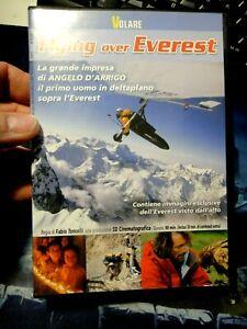 DVD FLYING OVER EVEREST - LA GRANDE IMPRESA DI ANGELO D'ARRIGO IN DELTAPLANO