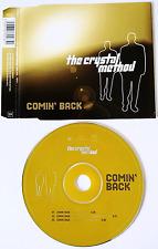 THE CRYSTAL METHOD - Comin' Back (CD Single Pt 2) (VG/VG)