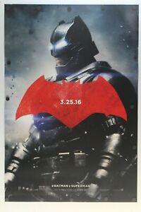 "Batman v Superman Dawn of Justice 2016 DS Original Movie Poster 27"" x 40"""