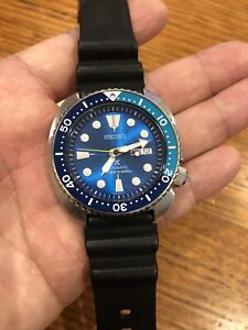 Excellent Limited Edition Seiko Lagoon Prospex Turtle 200m Divers Watch With Set