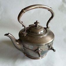 Beautiful Antique Vintage EPBM E305 Silver Plate TEA POT HINGED LID / ornament
