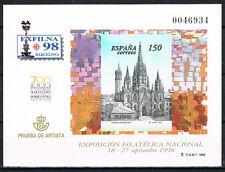ESPAÑA - PRUEBA Nº 66 EXFILNA´98  BARCELONA